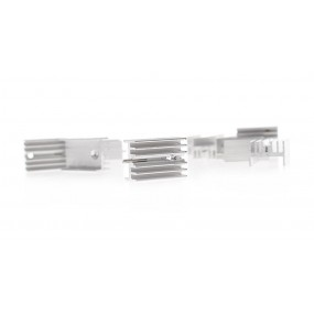 21*15*10mm Aluminum Heatsink (10-Pack)