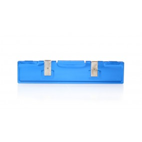 SD DDR DDR2 Memory Heat Sink Cooling Spreader (Blue)