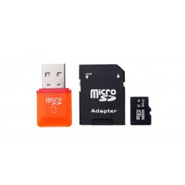 64GB microSDHC Memory Card w/ Card Adapter and Car...