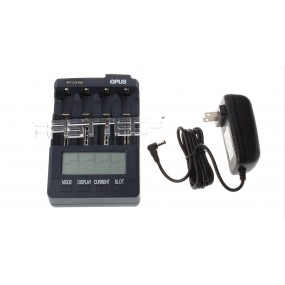 Authentic OPUS BT-C3100 V2.2 4-Slot Li-Ion Ni-MH Ni-Cd Battery Charger