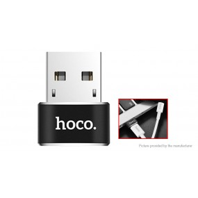 Authentic hoco UA6 USB-A to USB-C OTG Converter Adapter