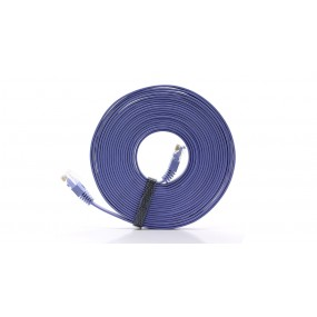 Cat 6 RJ45 Flat Ethernet LAN Network Cable (500cm)
