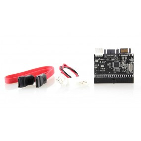 Bidirectional 40-pin PATA IDE <--> SATA Bilateral Adapter/Convertor Card