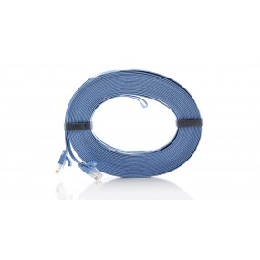 15-Meter RJ45 Flat Network Cable
